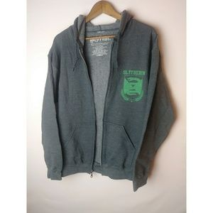 Harry Potter Gray/Green Quidditch Slytherin Jacket